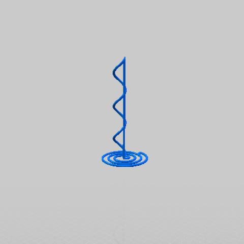 Capturawwww.PNG Télécharger fichier STL gratuit Rond de serviette Quaver • Plan à imprimer en 3D, davidbt96