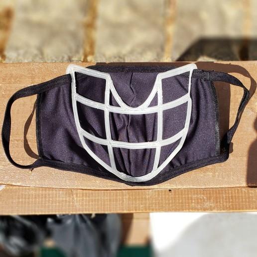 20200829_100846_min.jpg Download STL file Fabric Mask Insert Comfort Upgrade - EASY BREATHING - Alternative Version • Object to 3D print, aarthur