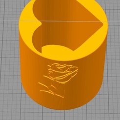 Download free 3D printing designs Love cups, Oliver0512