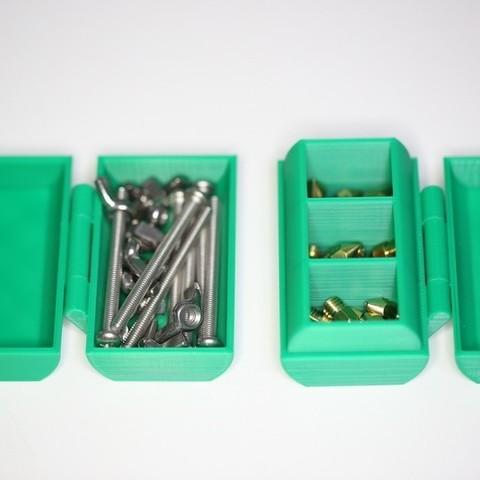 IMG_9377.JPG Download free STL file Nozzle Box • 3D printer template, Oliver0512