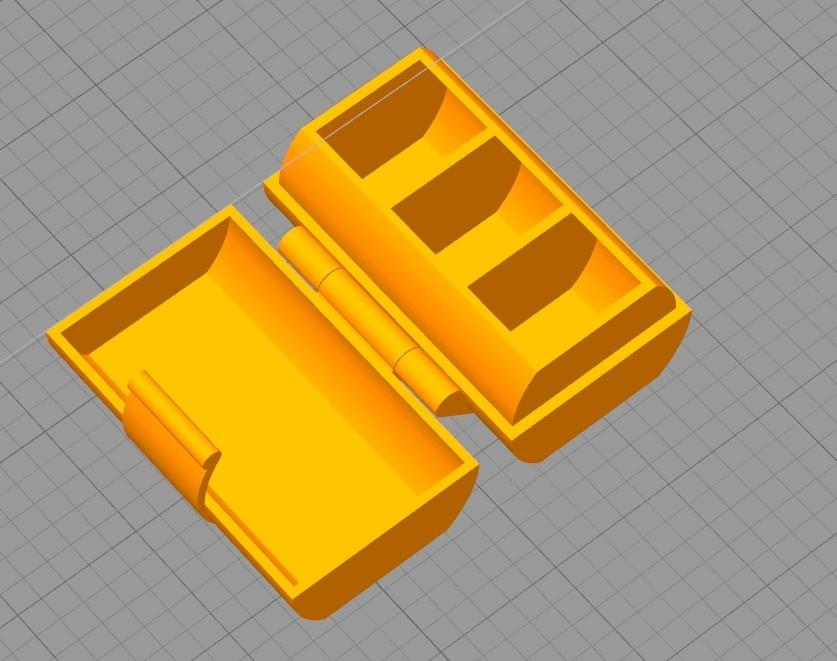2018-08-04_222915.jpg Download free STL file Nozzle Box • 3D printer template, Oliver0512