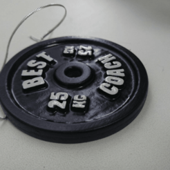 image.png Download free STL file Best Coach Barbell Plate • 3D printer design, Staf26