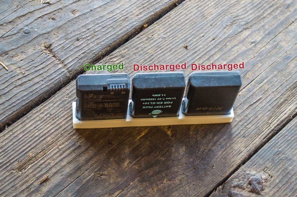 a4f620da0572c5178b9c04c711b61915_display_large.jpg Télécharger fichier STL gratuit Nikon EN-EL14 Support de batterie • Plan à imprimer en 3D, Staf26