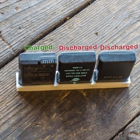Télécharger modèle 3D gratuit Nikon EN-EL14 Support de batterie, Staf26