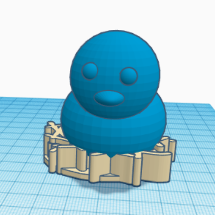 Screenshot (6577).png Download free STL file chick in nest • 3D print object, talne