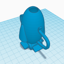 Free 3d printer model utensil holder, talne