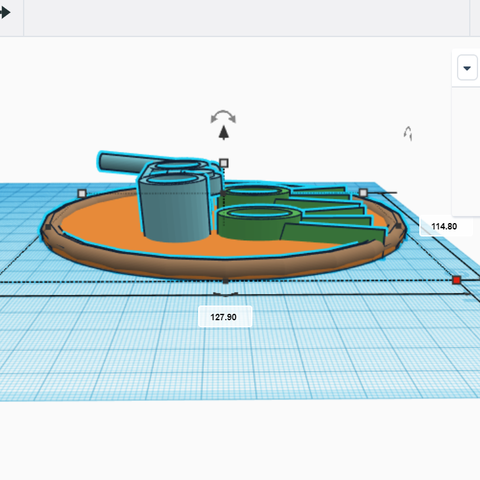 Screenshot (6602).png Download free STL file cute soap and scrub brush holder • Model to 3D print, talne
