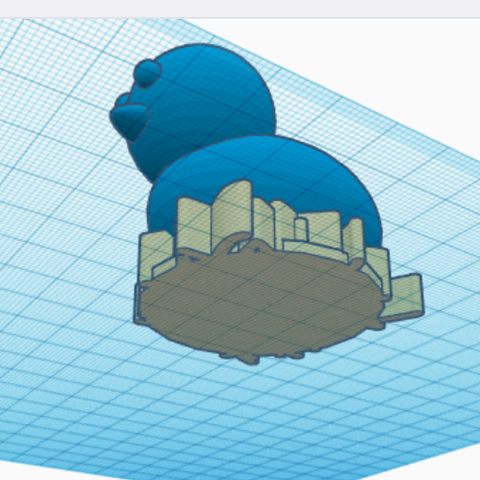 Screenshot (6578).png Download free STL file chick in nest • 3D print object, talne