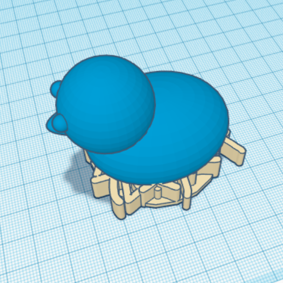 Screenshot (6579).png Download free STL file chick in nest • 3D print object, talne