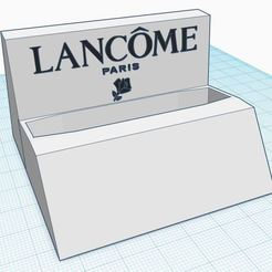 Foto1.JPG Download free STL file Lancome Idol holder perfume 50 ml • 3D printing design, MoiX
