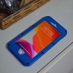 DSC_0789.JPG Download STL file Iphone 8 Plus Armour Case • 3D print design, TheMeiquer