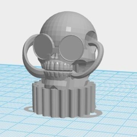 3D print model Steam Punk Pencil Topper, ED2014