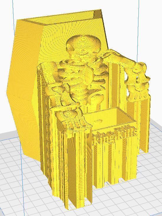 smoke2.JPG Download free STL file #XYZCHALLENGE Smoking Kills Cigarette Pack Holder • 3D printable template, ED2014