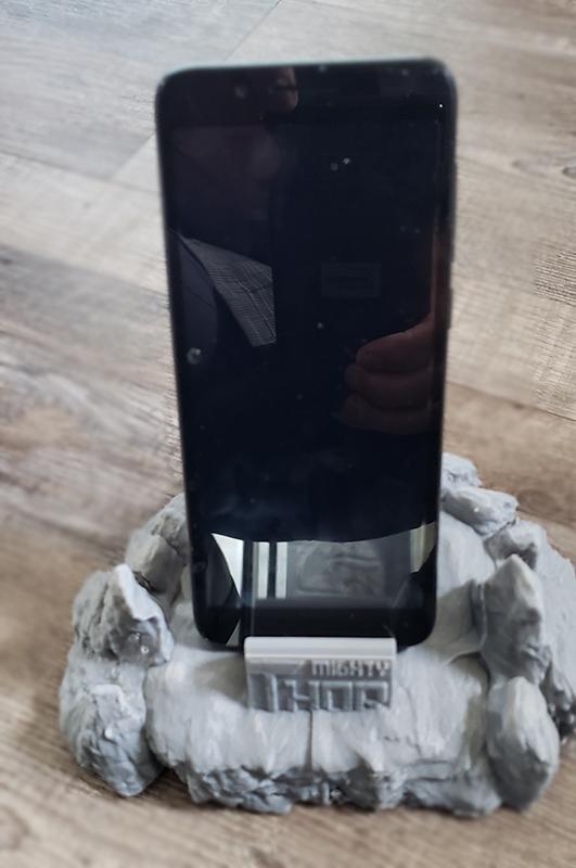 newthor3.jpg Télécharger fichier STL Support de téléphone à marteau de Thor • Modèle pour impression 3D, ED2014