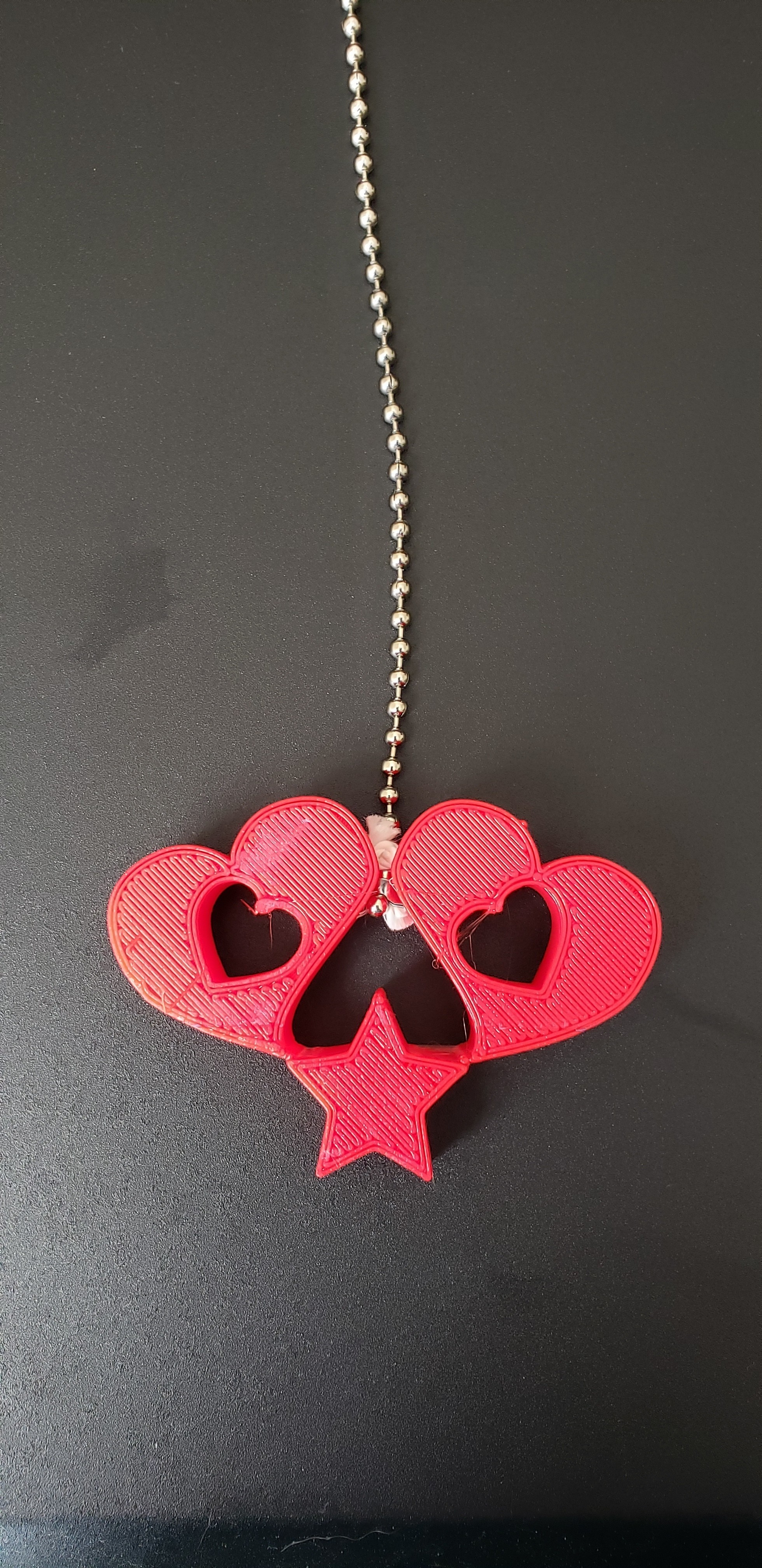 heart2 (1).jpg Download free STL file 2 Hearts and a star light pull • Model to 3D print, ED2014