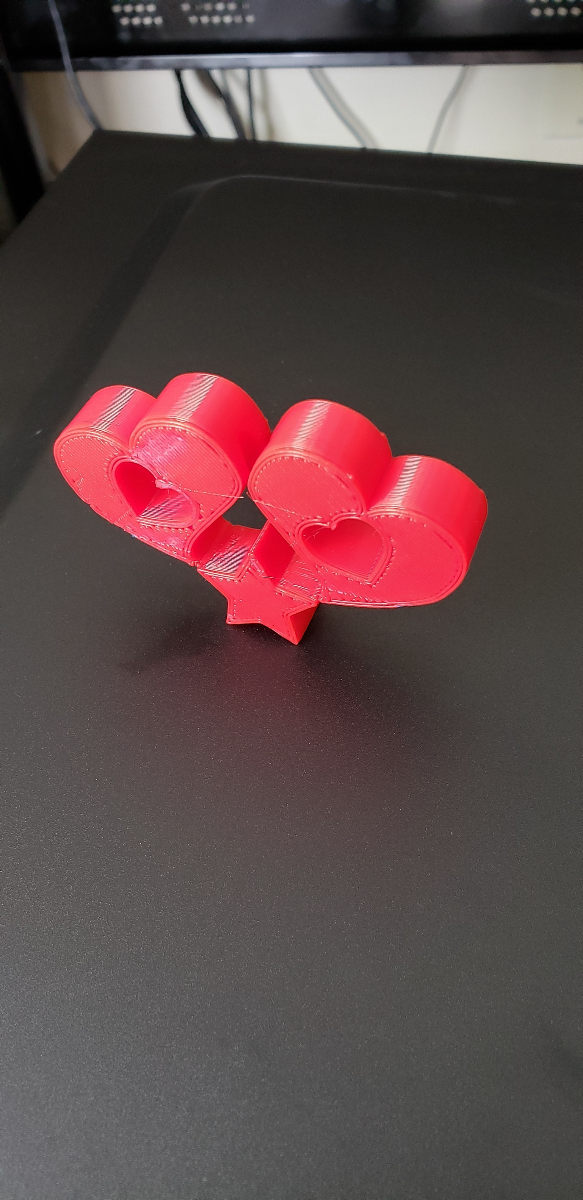 heart3.jpg Download free STL file 2 Hearts and a star light pull • Model to 3D print, ED2014