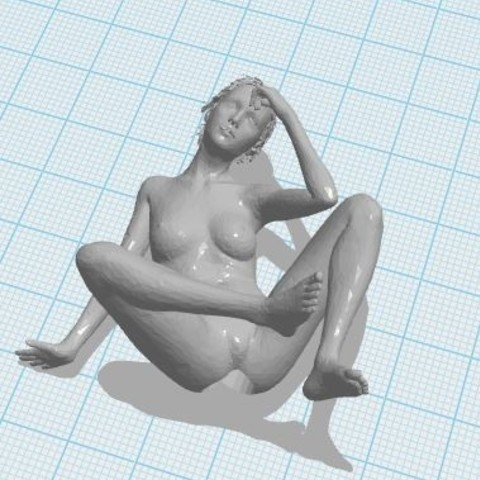 lady5.JPG Télécharger fichier STL Nude Lady Pencil Top • Design pour impression 3D, ED2014