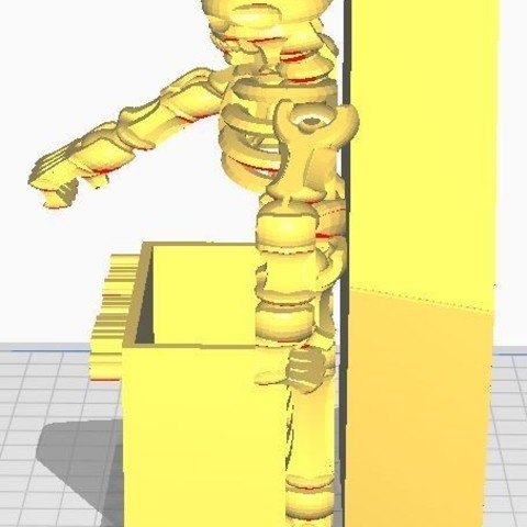 smoke1.JPG Download free STL file #XYZCHALLENGE Smoking Kills Cigarette Pack Holder • 3D printable template, ED2014
