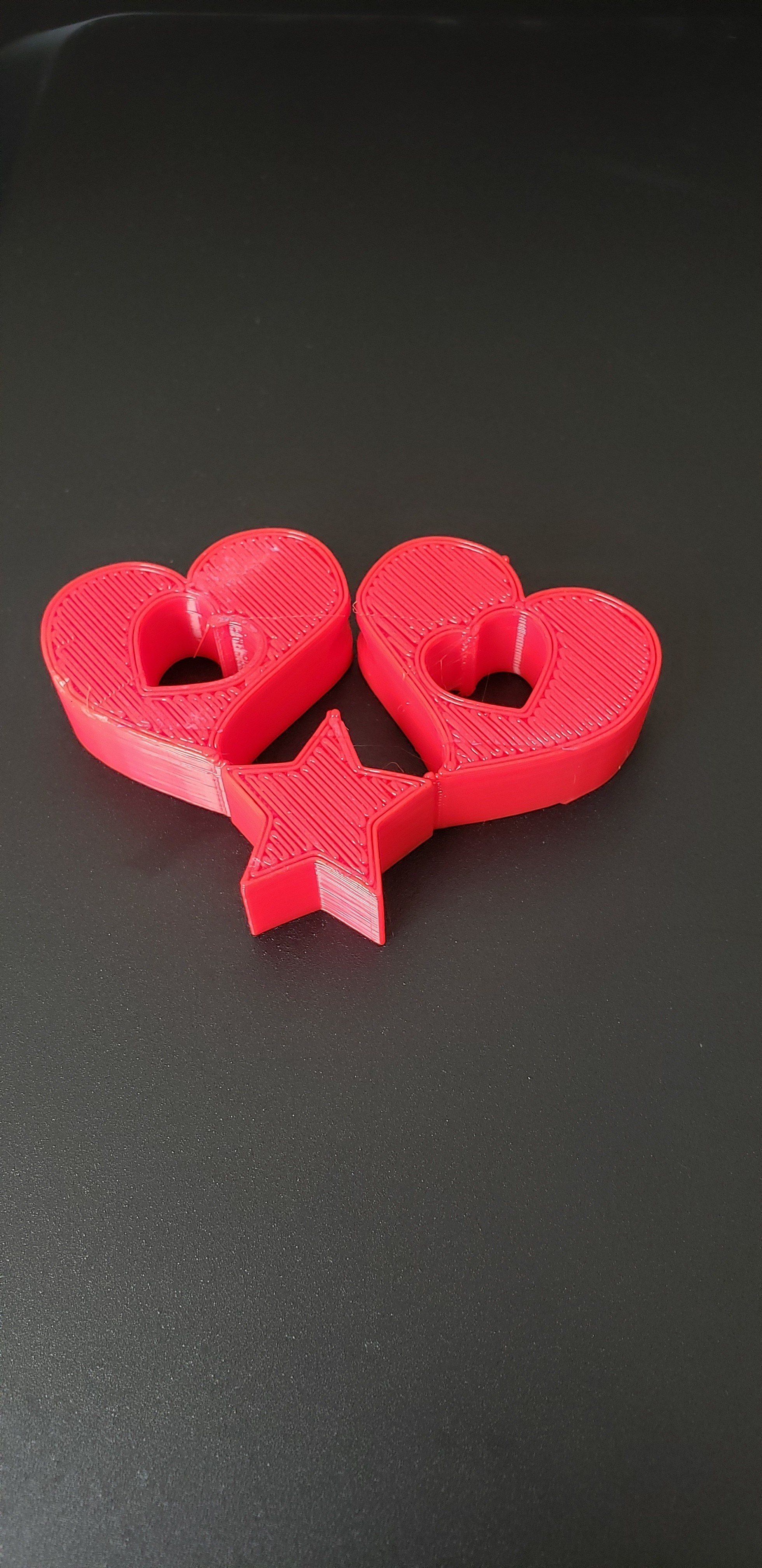 heart2 (2).jpg Download free STL file 2 Hearts and a star light pull • Model to 3D print, ED2014