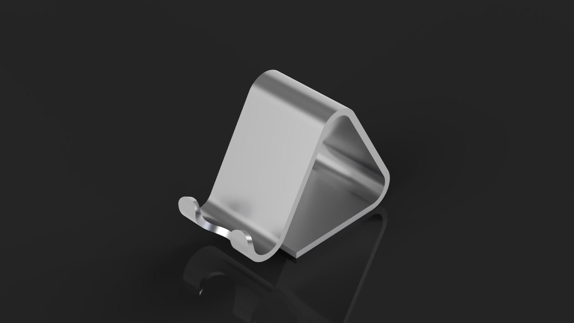 phone_holder_1.jpg Télécharger fichier STL gratuit Support de téléphone • Plan pour impression 3D, Arostro