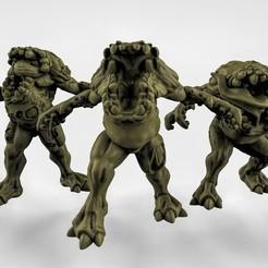 Free stl 3x Demons, duncanshadow