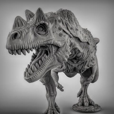 STL gratuit Ceratosaurus dinosaurus, duncanshadow