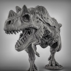 9b8f7f9ab0e5de2538759f54cecf77f5_display_large.jpg Download free STL file Ceratosaurus dinosaurus • Template to 3D print, duncanshadow