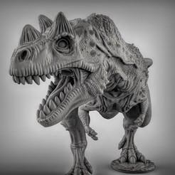 Modelos 3D para imprimir gratis Ceratosaurio dinosaurio, duncanshadow
