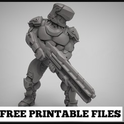 Free 3D printer files Sci_fi Gunner, duncanshadow