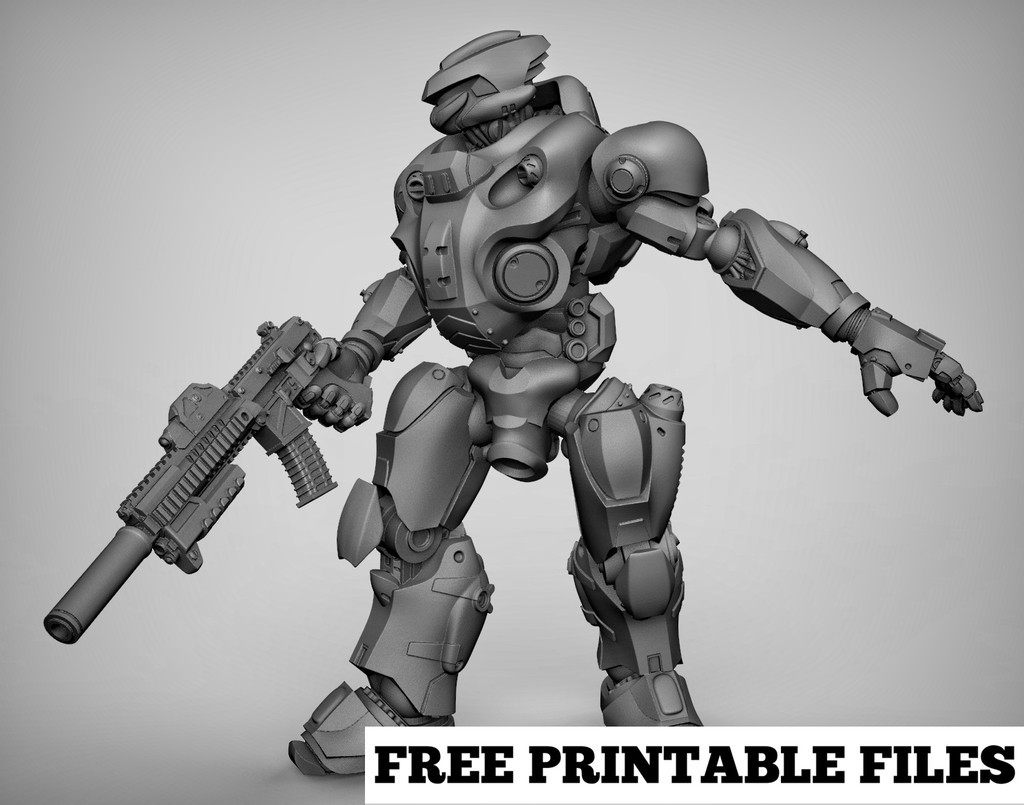 cdb07fd6ff4d760170c695c56b788882_display_large.jpg Download free STL file Mecha x2 • 3D print model, duncanshadow
