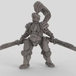 Free 3d model Robot Samurai, duncanshadow