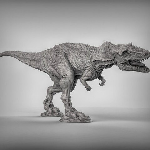 Download free 3D printer model Alioramus dinosaurus, duncanshadow