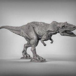 2c7f91cee76aec3b7125225cc58487ad_display_large.jpg Download free STL file Alioramus dinosaurus • Template to 3D print, duncanshadow