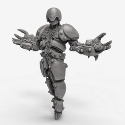 Download free STL files alien, duncanshadow