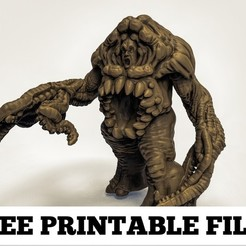 Free stl warp beast, duncanshadow