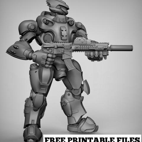 3f0b32accb646892d152b20460762a16_display_large.jpg Download free STL file Mecha x2 • 3D print model, duncanshadow