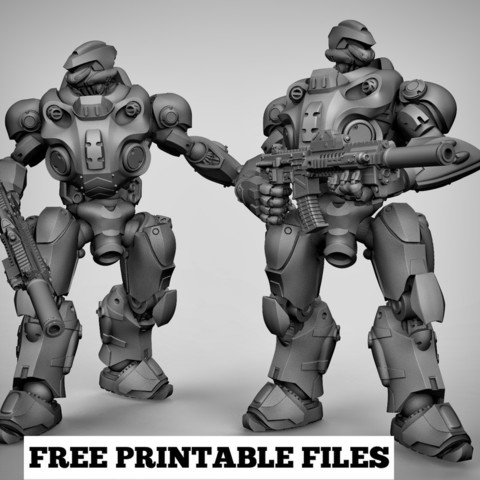 21538a16de1e4560a8150e85a6009e8c_display_large.jpg Download free STL file Mecha x2 • 3D print model, duncanshadow