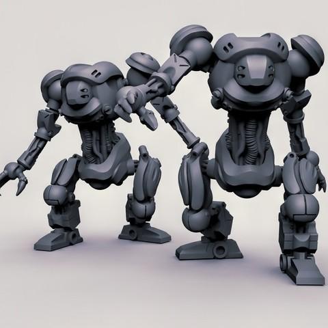 Download free 3D print files mecha, duncanshadow