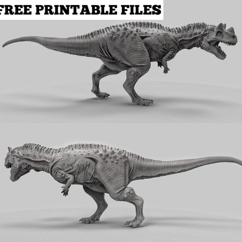 Download free 3D printer designs Ceratosaurus, duncanshadow