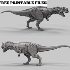 Download free 3D printer designs Ceratosaurus, duncanshadow