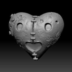 Free 3D printer files Heart, duncanshadow