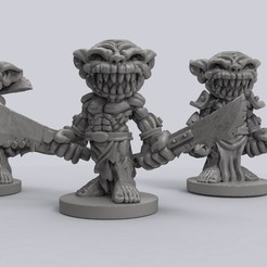 Download free 3D printer files Goblins, duncanshadow