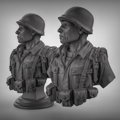 Free 3d printer model Soldier, duncanshadow