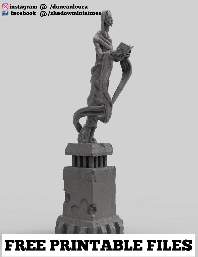 232281e285d796f72053ca83f0d65109_display_large.jpg Download free STL file Statue • 3D print template, duncanshadow
