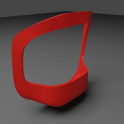 Beard final.png Download free STL file Beard lock template • 3D printing design, pablo_br093