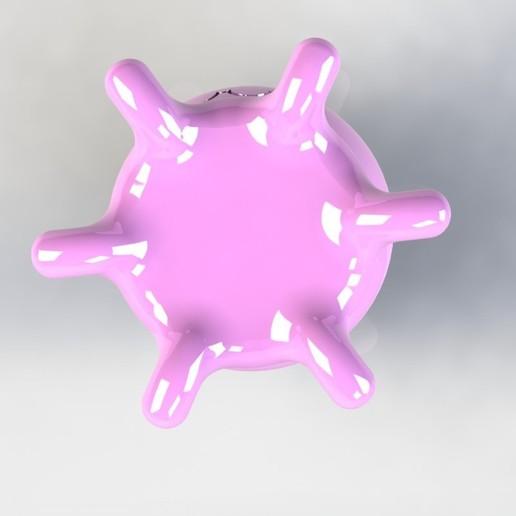 pieuvredessous.JPG Télécharger fichier STL gratuit Poulpy le petit poulpe • Design pour imprimante 3D, MEcreative