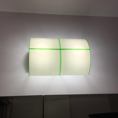 Free 3d printer model Bathroom light fixture, wall mount, CVMichael