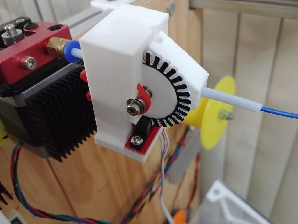 bcb42941bc817da4c778794f70b7ab96_display_large.jpg Télécharger fichier STL gratuit Capteur optique à filament - pour filament de 1,75mm • Objet pour imprimante 3D, CVMichael