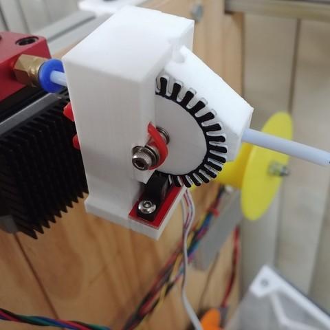 Download free 3D printer designs Optical Filament Sensor - for 1.75mm filament, CVMichael