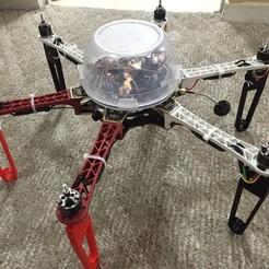 Télécharger fichier impression 3D gratuit DJI F550 / 450 Pliage des jambes de train d'atterrissage pliant, CVMichael